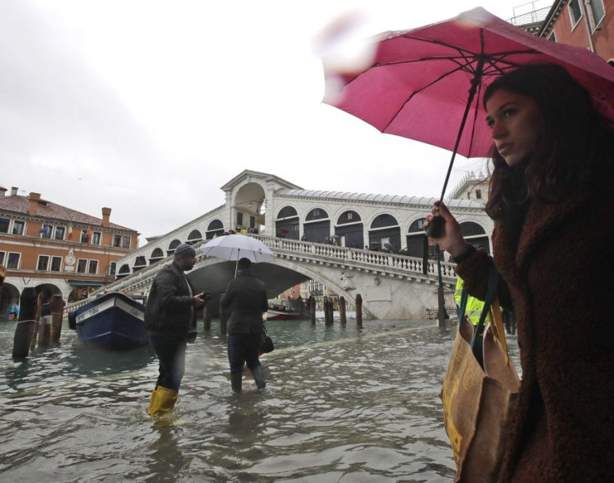 Italy declares state of emergency in flood-hit Venice