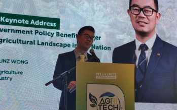 Wong: Sabah to become healthy agriculture hub of Asia in a decade