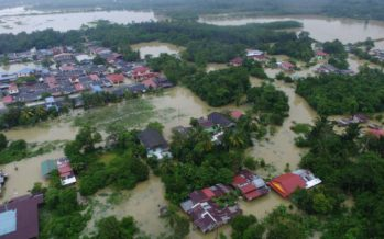 Machang – Third district to be hit by floods in Kelantan
