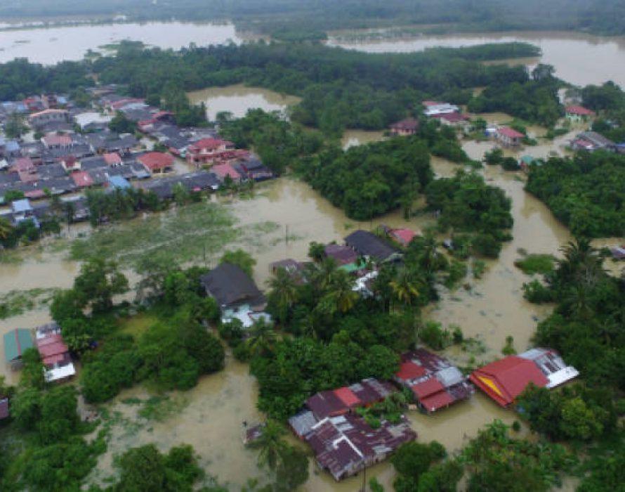 Machang – Third district to be hit by floods in Kelantan