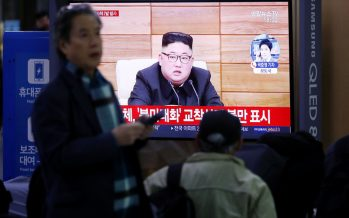 North Korea test-fires missiles to pressure US