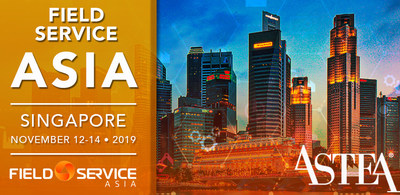 Visit the Astea APAC team at Stand #1 at Field Service Asia 2019