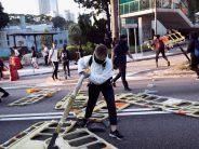 Hong Kong campus protest, options fade as US bill angers China