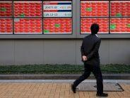 Shares falter as China-US row over Hong Kong wrecks trade deal hopes