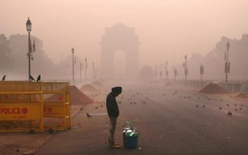 India's capital trapped in toxic air pollution