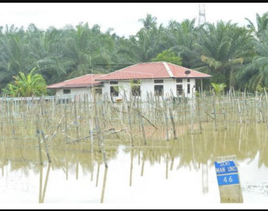 Eight evacuees still at flood relief centre in Marang