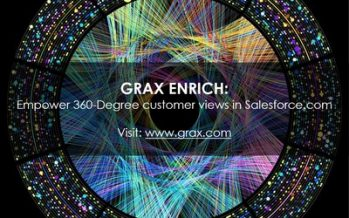 GRAX Releases Data Enrichment Hub for Salesforce.com