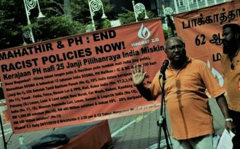 HINDRAF demands PH to fulfill 25 PH manifesto