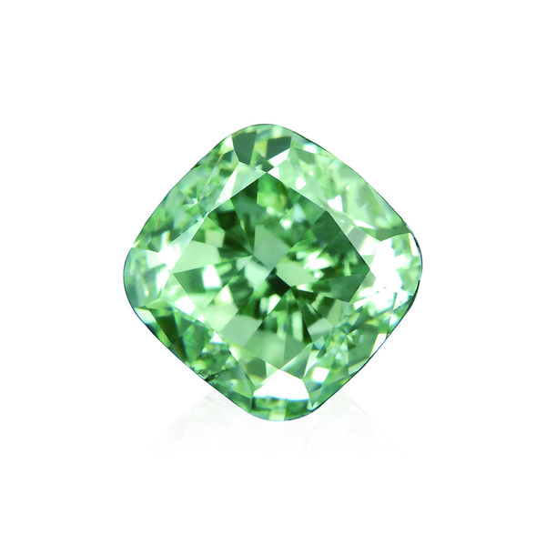 A 6.06-carat fancy intense green diamond will be introduced at the tradeshow.