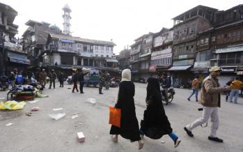 One dead, 45 injured in grenade attack in Kashmir's Srinagar