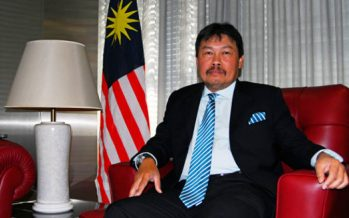 It's been a hectic year for Malaysia's ambassador to Japan