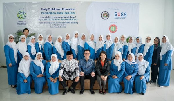 The two-year Early Childhood Education Project marks the Singapore International Foundation's first early childhood education initiative in West Java and aims to benefit over 9,000 members of the Indonesian community by 2021.