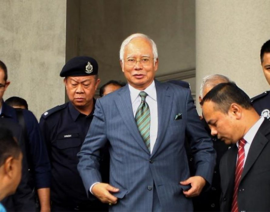 Najib: National debt has shot up to RM804 bln. What say you, Lim?