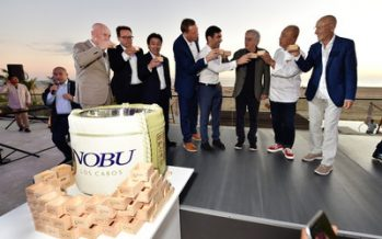 Nobu Hotel Los Cabos Celebrates Official Opening With Signature Sake Ceremony