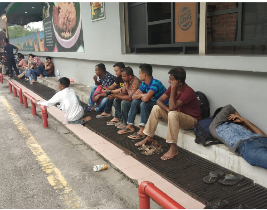 Exclusive: 300 foreigners stranded at Shah Alam Immigration Dept for three days