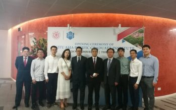 Shanghai Jiao Tong University Singapore Asia-Pacific Graduate Institute (SJTU-APGI) officially Unveiled in Singapore