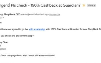 ShopBack GO x Guardian 150% Cashback Campaign – ShopBack Marketing Team confirms 150% Cashback at Guardian is '100% real'