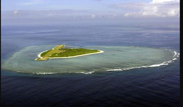 US warships sail in disputed South China Sea, China livid