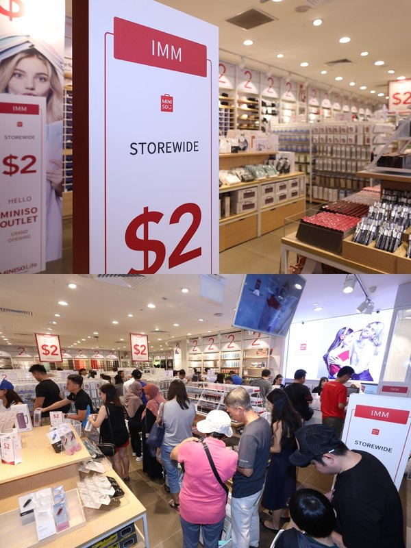 The 2SGD Sales Model of MINISO Outlet