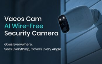 Vacos Cam AI Battery-Powered Security Camera Debuts in Smart Home Market, Bringing the World's Most Versatile Smart Home Solution to Everyone
