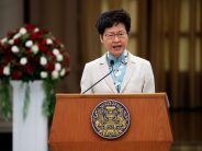 Carrie Lam does not rule out Cabinet reshuffle, says focus is restoring order
