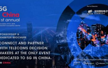 5G Global Conference is about to open in December