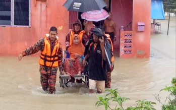Flood situation in Rompin worsens