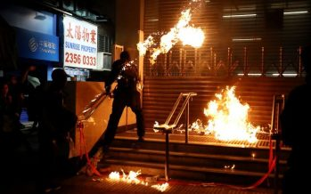 Hong Kong gears up for lunchtime rallies after weekend unrest