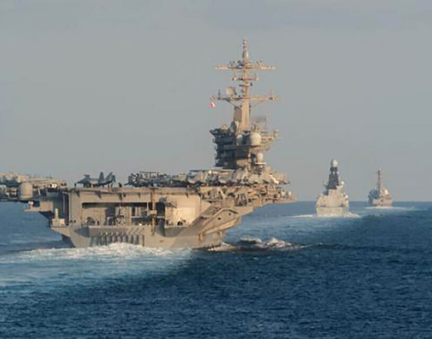 US warship in Gulf seizes missile parts suspected of Iranian origin