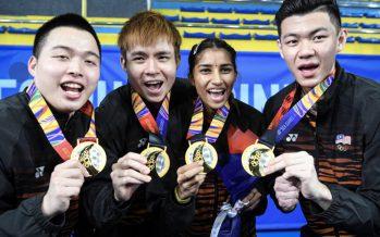 Zii Jia, Kisona sparkle as Malaysia win 11 golds