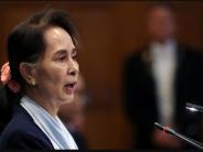 Nobel laureate Suu Kyi defends genocide accusations