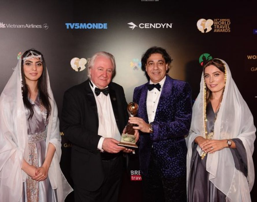 Deepak Ohri honored with 'World's Leading Travel Personality' Award 2019
