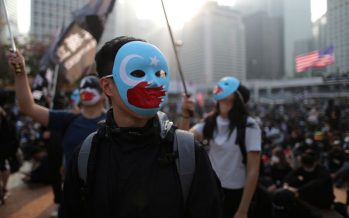 Hong Kong protest: Uighur support rally turned chaotic