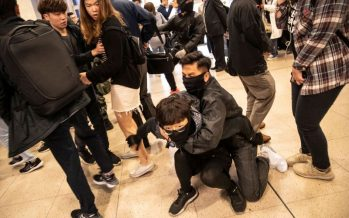 Hong Kong government urged to stop violence, resolve problems