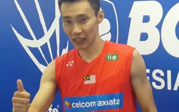 Chong Wei pays tribute to his coaches
