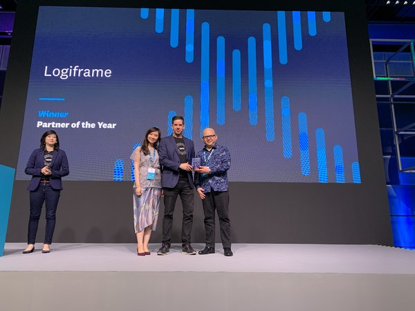 Logiframe was announced as the winner of Xero Awards 2019 - Asia Accounting Partner of the Year.