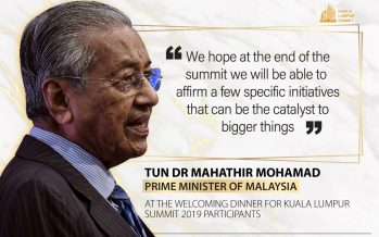 KL Summit: Malaysian Prime Minister's welcoming address during opening ceremony