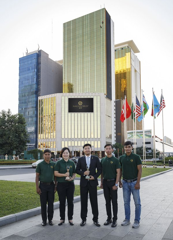 """NagaWorld Managing Director Mr. Pern Chen: """"Winning the Stevie(R) Awards reflects our long-term commitment to nation building in Cambodia."""""""