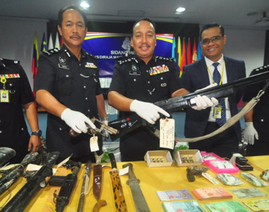 Three criminals shot dead by police in Kinabatangan