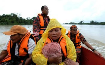 Flood receding, only 278 people at evacuation centres
