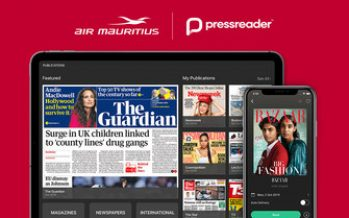 PressReader travels even farther with Air Mauritius partnership