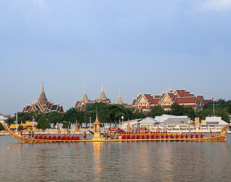 Royal Barge Procession: Final Phase of the Coronation of King Rama X
