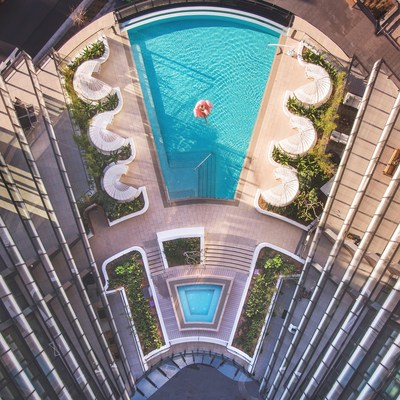 Pool at SKYE Suites Green Square