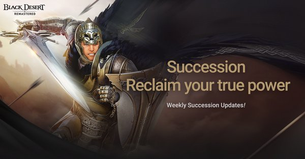 Succession for Warriors and Rangers Now Available in Black Desert SEA