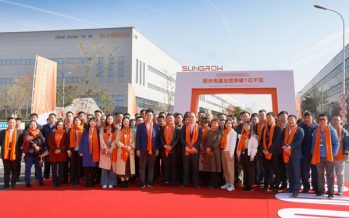 Sungrow Hits a 100 GW Inverter Shipment Milestone