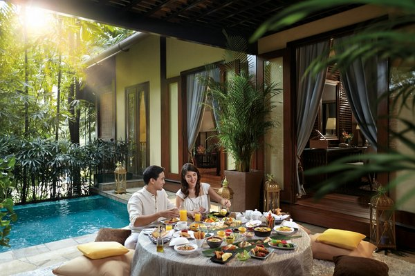 Complete the wedding celebrations in true Asian style at The Villas in Sunway Resort Hotel & Spa