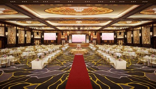 A grand wedding at Sunway Resort Hotel & Spa's newly refurbished ballroom
