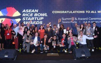 13 Southeast Asian Startups Received Accolades at the ASEAN Rice Bowl Startup Awards 2019