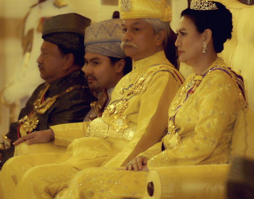 Tuanku Muhriz inspects guard of honour in conjunction with 72th birthday celebrations