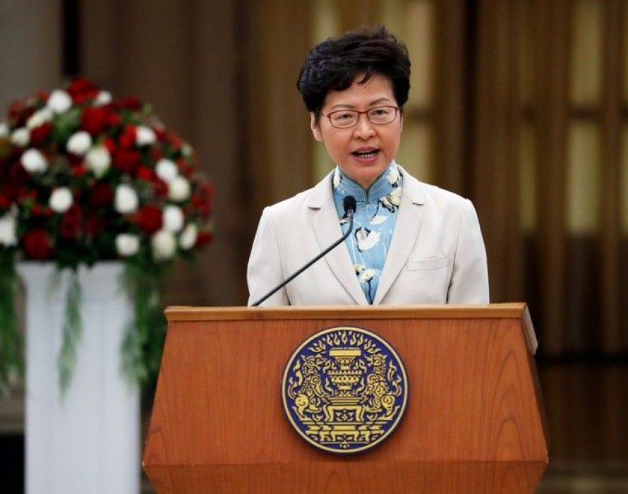 Carrie Lam: Financial hub's strengths intact despite protests